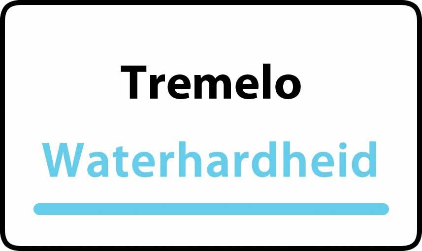 waterhardheid in Tremelo is hard water 36 °F Franse graden
