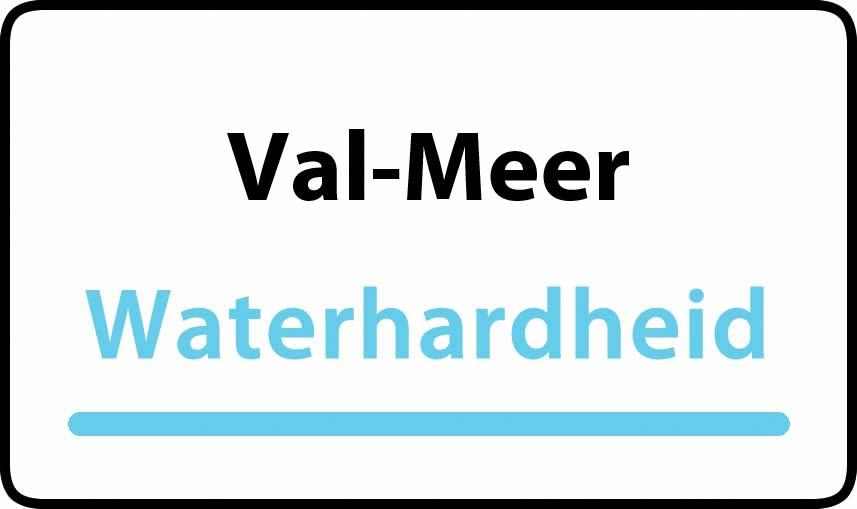 waterhardheid in Val-Meer is hard water 37 °F Franse graden