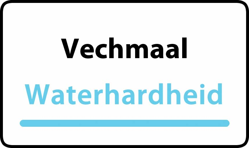 waterhardheid in Vechmaal is hard water 37 °F Franse graden
