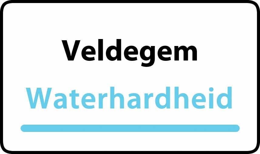 waterhardheid in Veldegem is middel hard water 28 °F Franse graden