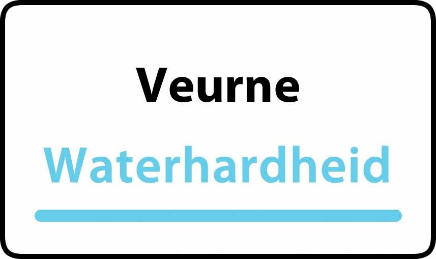 waterhardheid in Veurne is hard water 40 °F Franse graden