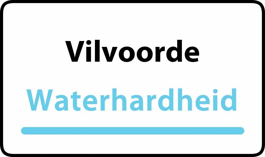 waterhardheid in Vilvoorde is hard water 39 °F Franse graden