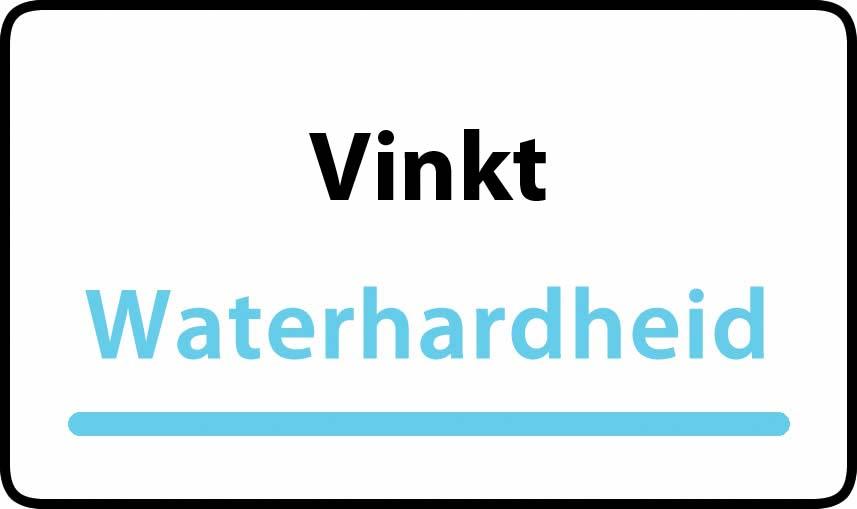 waterhardheid in Vinkt is hard water 39 °F Franse graden
