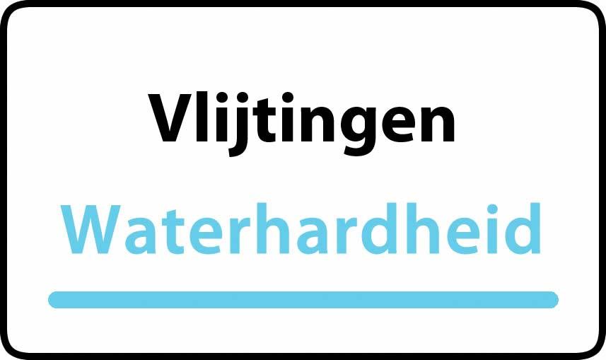 waterhardheid in Vlijtingen is hard water 37 °F Franse graden