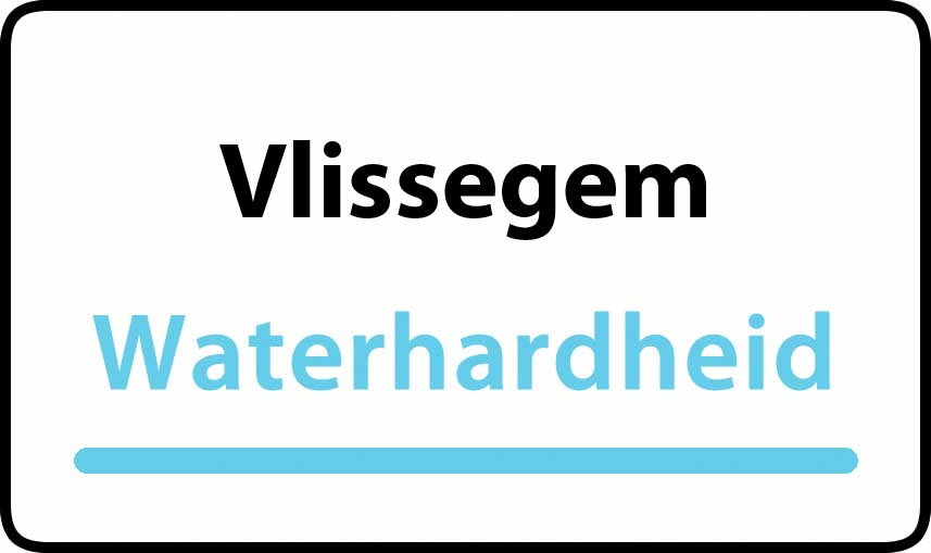 waterhardheid in Vlissegem is hard water 35 °F Franse graden
