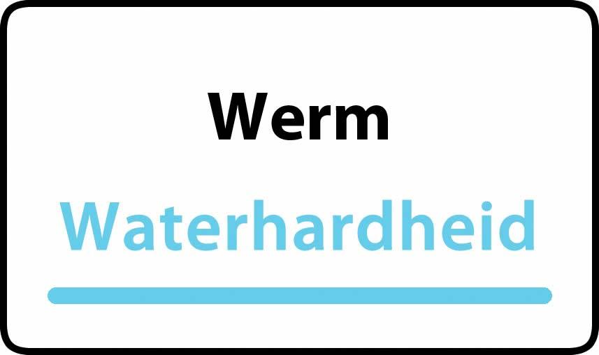 waterhardheid in Werm is hard water 35 °F Franse graden