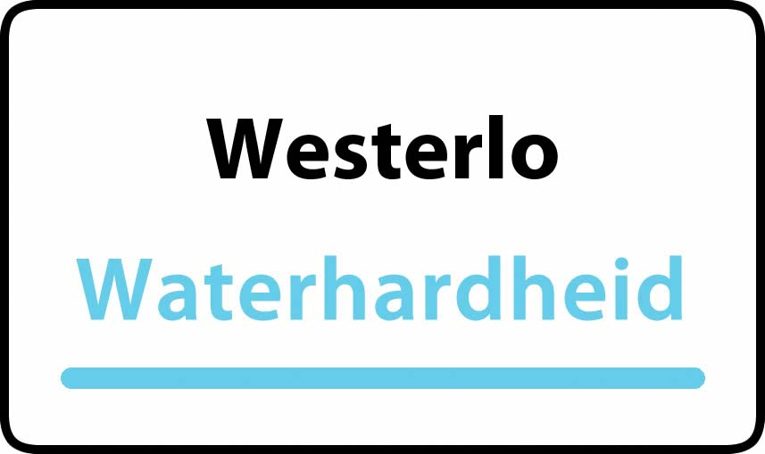 waterhardheid in Westerlo is middel hard water 19 °F Franse graden