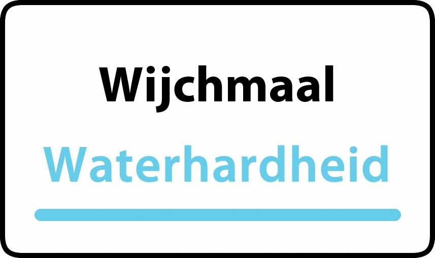 waterhardheid in Wijchmaal is middel hard water 15 °F Franse graden