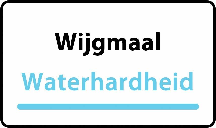 waterhardheid in Wijgmaal is hard water 34 °F Franse graden