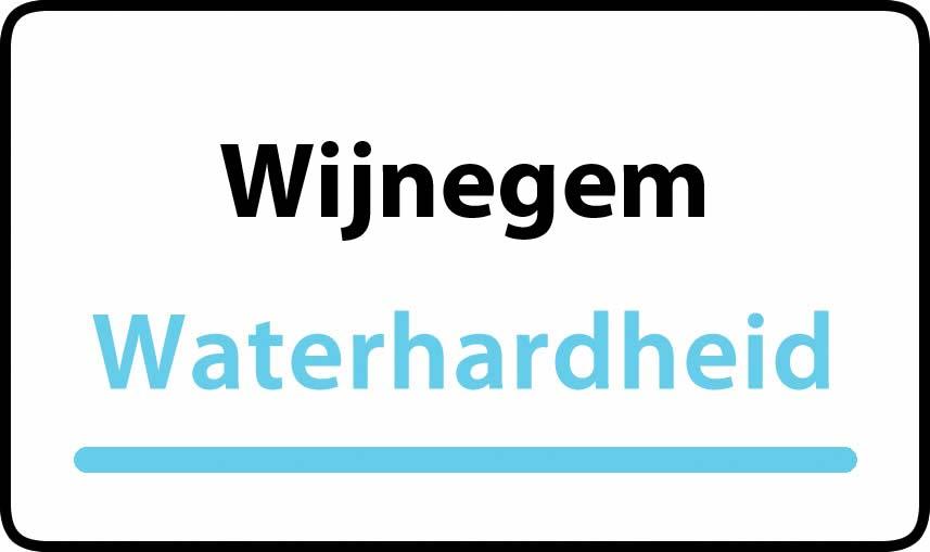 waterhardheid in Wijnegem is middel hard water 17 °F Franse graden