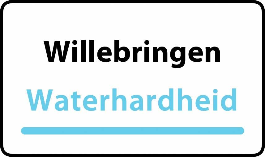 waterhardheid in Willebringen is hard water 40 °F Franse graden