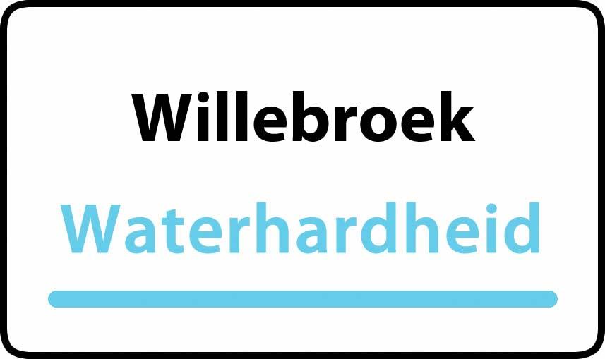 waterhardheid in Willebroek is middel hard water 18 °F Franse graden