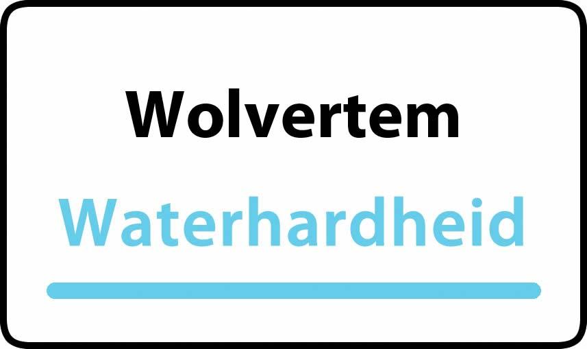 waterhardheid in Wolvertem is hard water 39 °F Franse graden