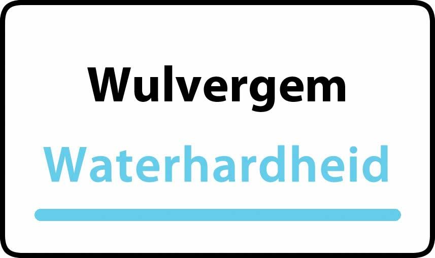 waterhardheid in Wulvergem is zeer hard water 45 °F Franse graden