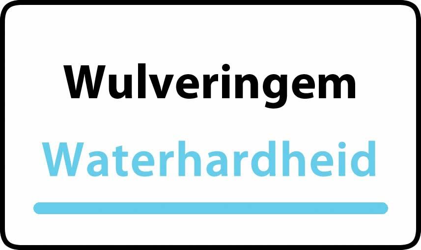 waterhardheid in Wulveringem is hard water 40 °F Franse graden