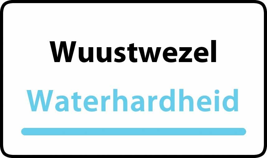 waterhardheid in Wuustwezel is middel hard water 18 °F Franse graden