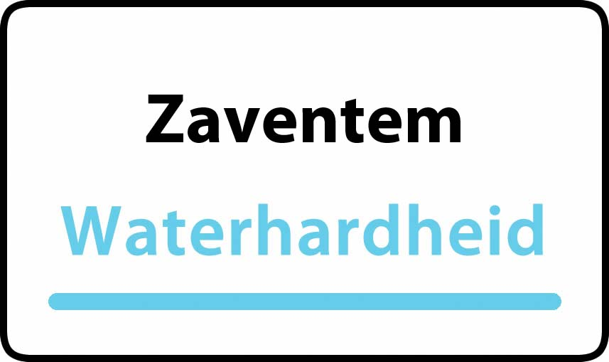 waterhardheid in Zaventem is hard water 39 °F Franse graden