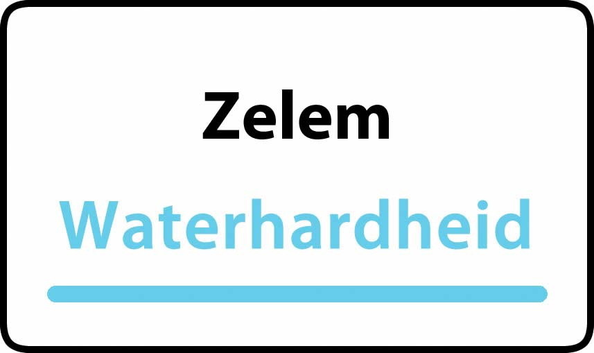 waterhardheid in Zelem is middel hard water 22 °F Franse graden