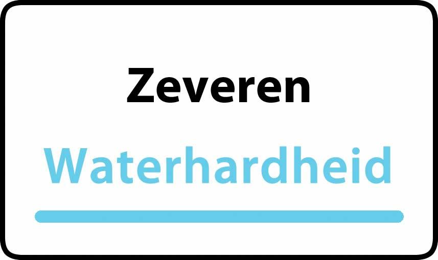 waterhardheid in Zeveren is hard water 39 °F Franse graden