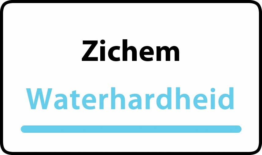 waterhardheid in Zichem is middel hard water 17 °F Franse graden
