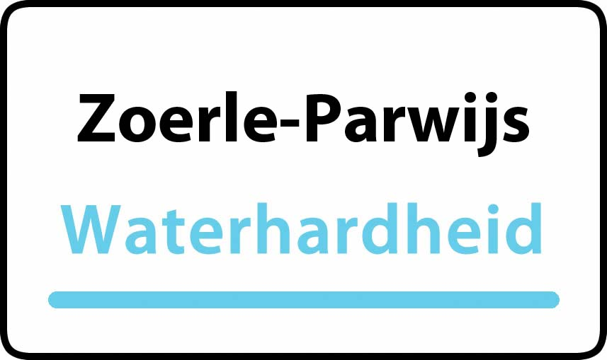 waterhardheid in Zoerle-Parwijs is middel hard water 19 °F Franse graden