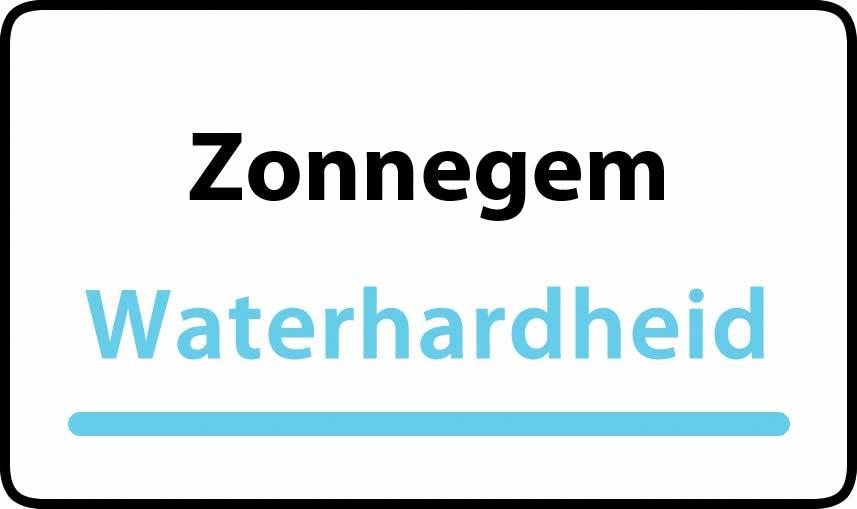 waterhardheid in Zonnegem is middel hard water 23 °F Franse graden