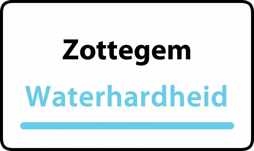 waterhardheid in Zottegem is hard water 39 °F Franse graden