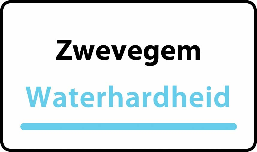 waterhardheid in Zwevegem is zeer hard water 47 °F Franse graden