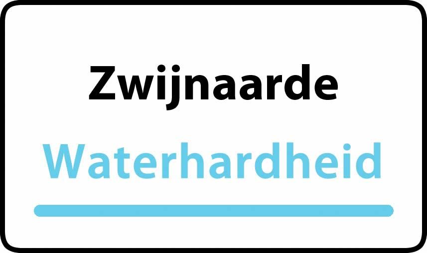 waterhardheid in Zwijnaarde is hard water 39 °F Franse graden